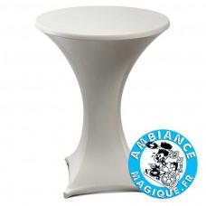 TABLE 182X74X74CM, GRIS CLAIR